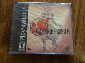 Valkyrie Profile - NYTT INPLASTAT - amerikanskt Playstation - PS1 NTSC