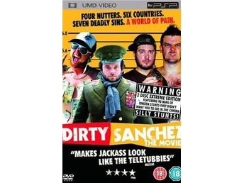 Dirty Sanchez - UMD DVD - Playstation PSP
