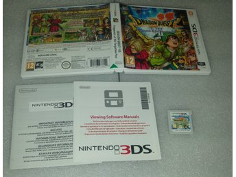 Dragon Quest VII Fragments of the Forgotten Past till 3DS! Svensksåld! 1kr