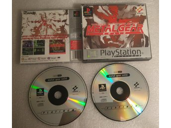 Metal Gear Solid Till Playstation! 1kr