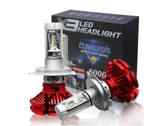 X3 LED Headlight H7 50W zes 2ndG light source 6000LM