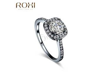 Ring Rhinestone Wedding s bagues femme size 6 GE0084