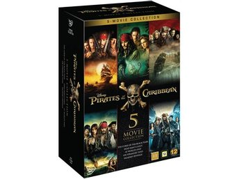 Pirates of the Caribbean 1-5 (5 DVD)