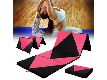 70x47x1.97inch Foldable Gymnastic Mat Gym Exercise Yoga P...