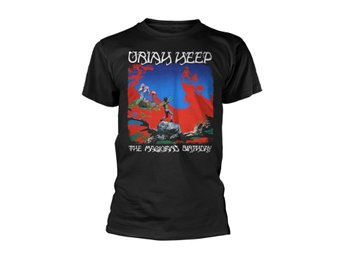 Uriah Heep The Magicians Birthday (Black)  T-Shirt Medium