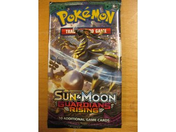 POKEMONPAKET GUARDIANS RISING SUN & MOON - NYTT OÖPPNAT BOOSTER PAKET POKEMON