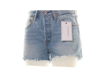Levi Strauss & Co, Jeansshorts, Strl: 27, 501 Customized Hr Short, Ljusblå