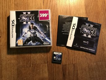 STAR WARS THE FORCE UNLEASHED 2 NINTENDO DS OK SKICK