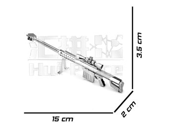 3D Pussel Metall - Barrett Sniper Rifle