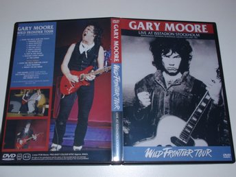 GARY MOORE - WILD FRONTIER TOUR / LIVE SWEDEN 1987 PRO-SHOT THIN LIZZY RARE!