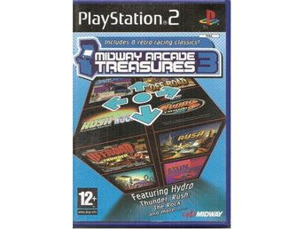 MIDWAY ARCADE TREASURES 3-RETRO SPEL   ( PS2  Spel)