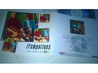 The Trampolines - Good morning to the world, CD, Single