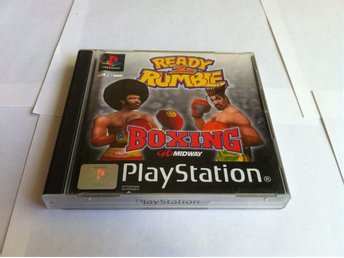 PS1/PSX: Ready 2 Rumble Boxing