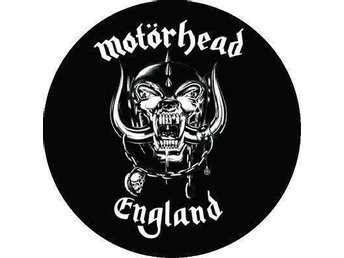 MOTÖRHEAD -4,5 cm -Badge / Pin/Knapp-(Lemmy, Hawkwind, Pink Fairies,