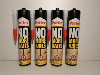 Montagelim Pattex no more nails 4 x 300 ml