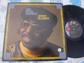 JIMMY McGRIFF - THE MEAN MACHINE LP 1976