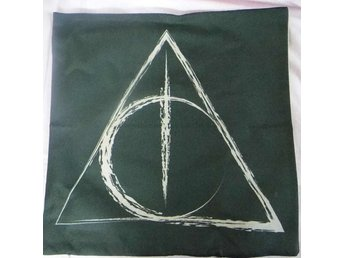 Harry Potter Deathly Hallows  Kudde / Cushion Cover