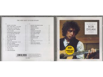 BOB DYLAN - The Very Best Of Bob Dylan 2-CD - Edsbyn - BOB DYLAN - The Very Best Of Bob Dylan 2-CD - Edsbyn