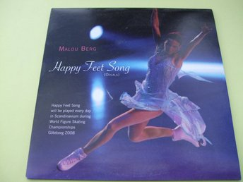 Malou Berg - Happy Feet Song - 2008 - CD-SINGEL