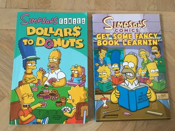 Simpsons Comics - Dollars to Donuts & Get Some Fancy Book Learnin'