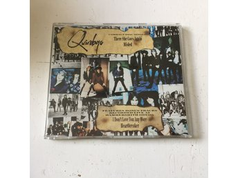 QUIREBOYS - THERE SHE GOES AGAIN/MISLED. (CDs)