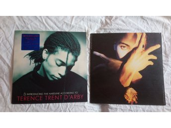 2 st. fullängdsalbum Terence Trent D'Arby: Neither Fish Nor Flesh, Introducing..