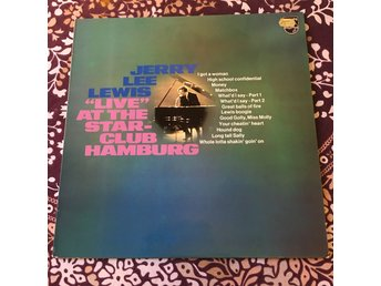 JERRY LEE LEWIS  - LIVE AT THE STAR CLUB HAMBURG US LP Capitol 1973