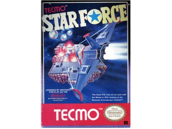 Star Force - NES - Kassett