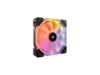 HD120 RGB Individually Addressable LED Static Pressure Fan with Controller