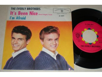 Everly Brothers 45/PS It´s been nice 1963 VG++