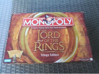 Monopoly - Lord of the Rings Trilogy Edition från Parker #Ej Komplett#
