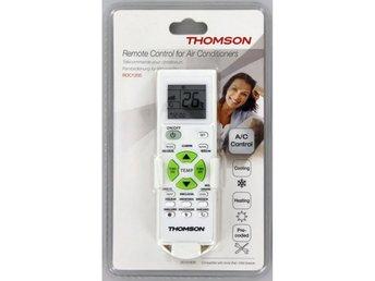 Javascript är inaktiverat. - Höganäs - THOMSON Fjärrkontroll Universal Air Condition Universal fjärrkontroll för air-conndition För styrning av luftkonditioneringsapparater Förprogrammerad för alla vanliga varumärken och enheter Inkl. timerfunktion LCD för visning av olika  - Höganäs
