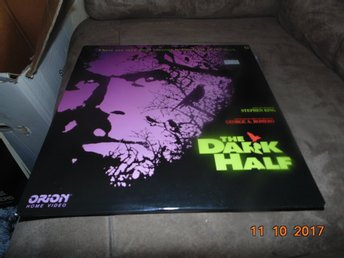 The dark half - George A- Romero - Stephen King  - 2st laserdisc