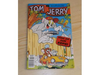 Tidning Tom & Jerry nr 6 1996