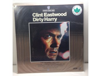 Dirty Harry (Clint Eastwood) Laserdisc 1LD B8-13