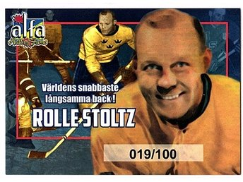 Alfa Hall of Fame Rolle Stolz DIF 019/100