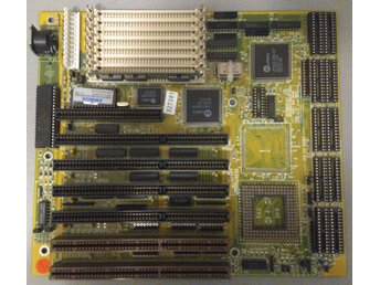 1992 - Motherboard for 486 with UMC chipset - AT - ISA - Defekt?