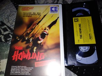 The howling (1981) Svensk Rental Hyr Hemvideo