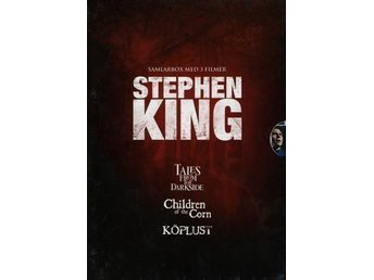 3 DVD BOX STEPHEN KING-Tales From The Darkside+Children Of The Corn+Köplust
