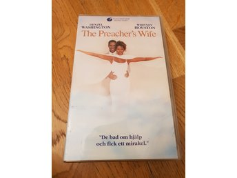 VHS: The preachers wife