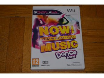 Now Thats What i Call Music Sing & Dance  - Nintendo Wii