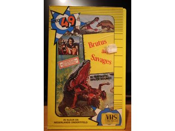 Brutes And Savages - EX-Rental, Holland, Video 49, VHS