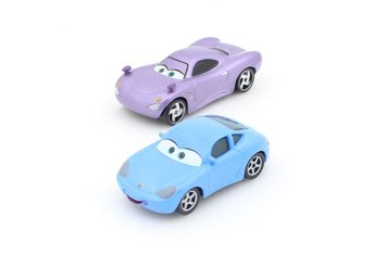 Disney Pixar Cars / Bilar / Mcqueen - Sally & Holley metall NYA
