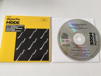 Depeche Mode Limited Edition 1987 Fransk cd singel Mute RARE