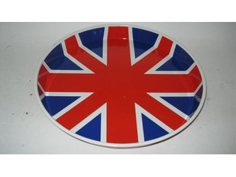 Bricka Union Jack frän Carnaby Street  London 1965  Diam 34cm