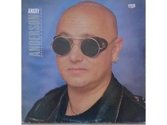 Angry Anderson ?title* Beats From A Single Drum* Hard Rock, Pop Rock UK LP - Hägersten - Angry Anderson ?title* Beats From A Single Drum* Hard Rock, Pop Rock UK LP - Hägersten