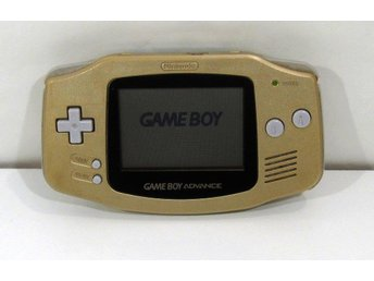 GBA guld konsol, Game Boy Advance