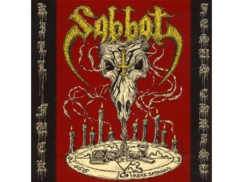 Sabbat (jap) -Kill fuck Jesus christ LP w poster Blackened t