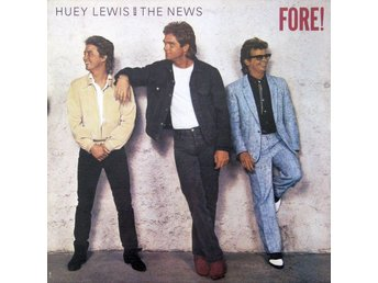 LP Huey Lewis and the news Fore!