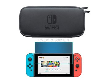 Nintendo Switch Väska Skal Carrying Bag - Gray Fri Frakt Hel